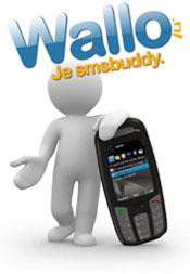 Anoniem sms versturen met Wallo